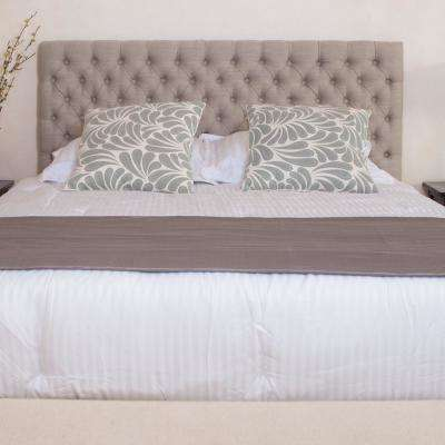 Monterey Sand Light Beige Queen Headboard