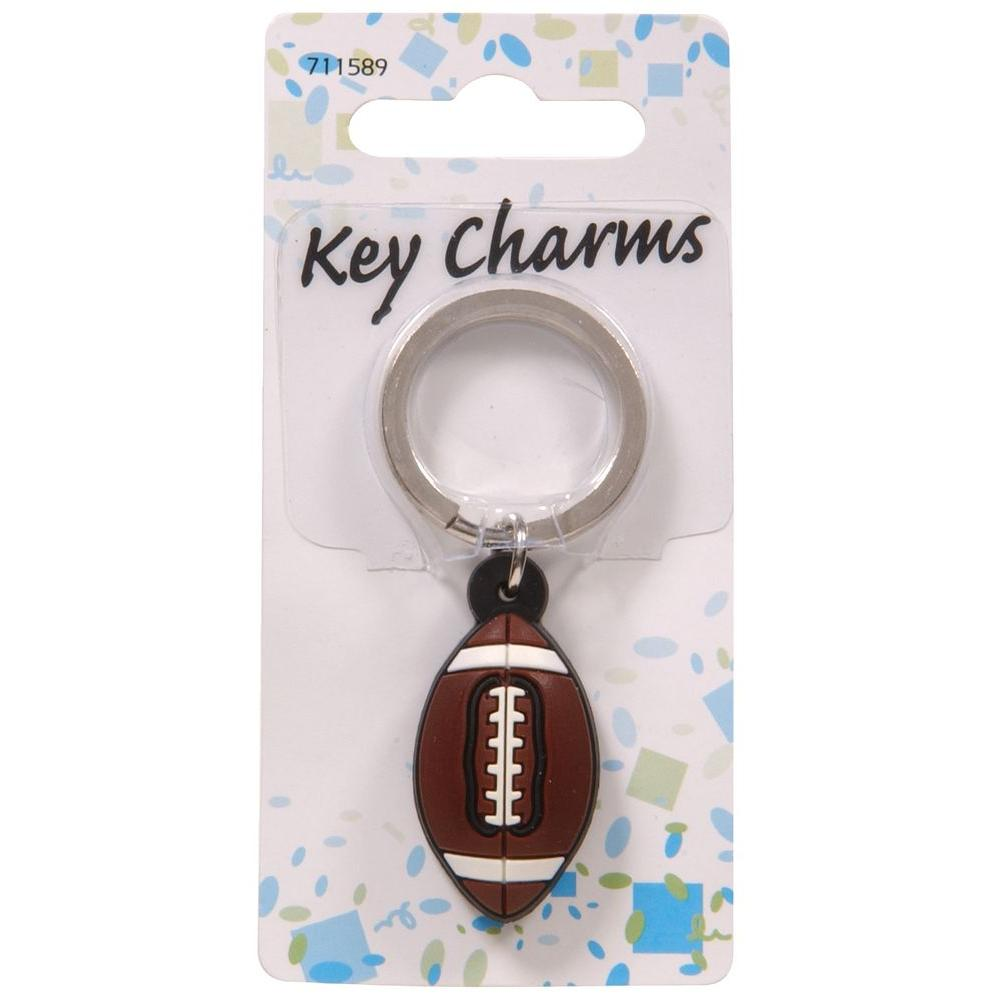 The Hillman Group Football Key Chain (3-Pack)