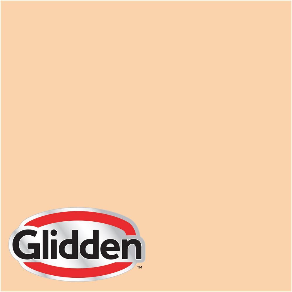 Glidden Premium 8 oz. #HDGO29 Orange Blossom Flat Interior Paint Sample