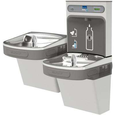 Filtered 8 GPH EZH2O ADA Stainless Steel Bi-Level Drinking Fountain with Bottle Filling Station
