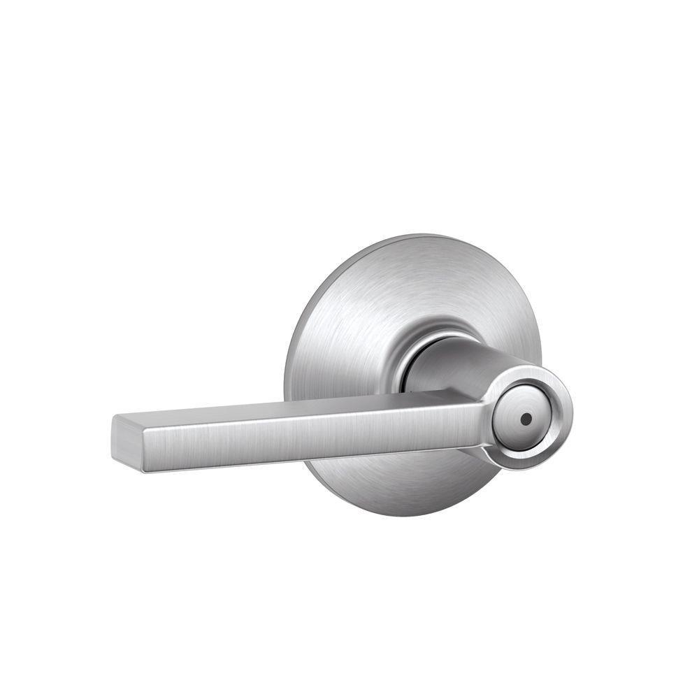 Schlage ADA Compliant Chrome Door Levers Door Hardware The - Ada bathroom door handle