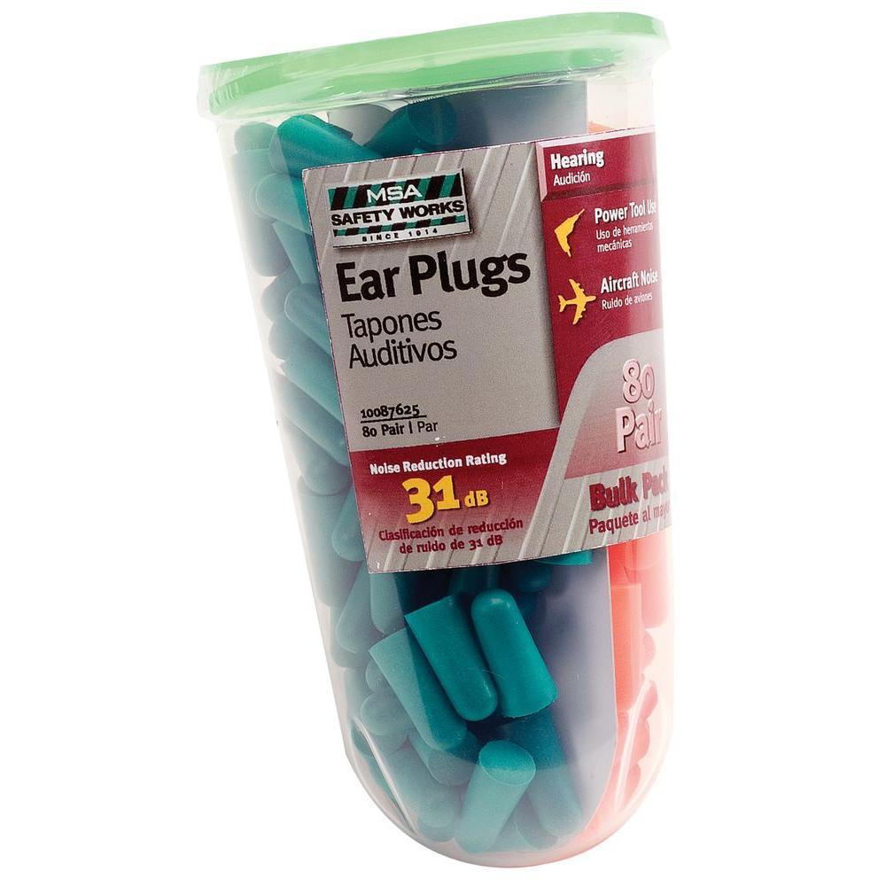 null Foam Ear Plugs (80-Pairs)