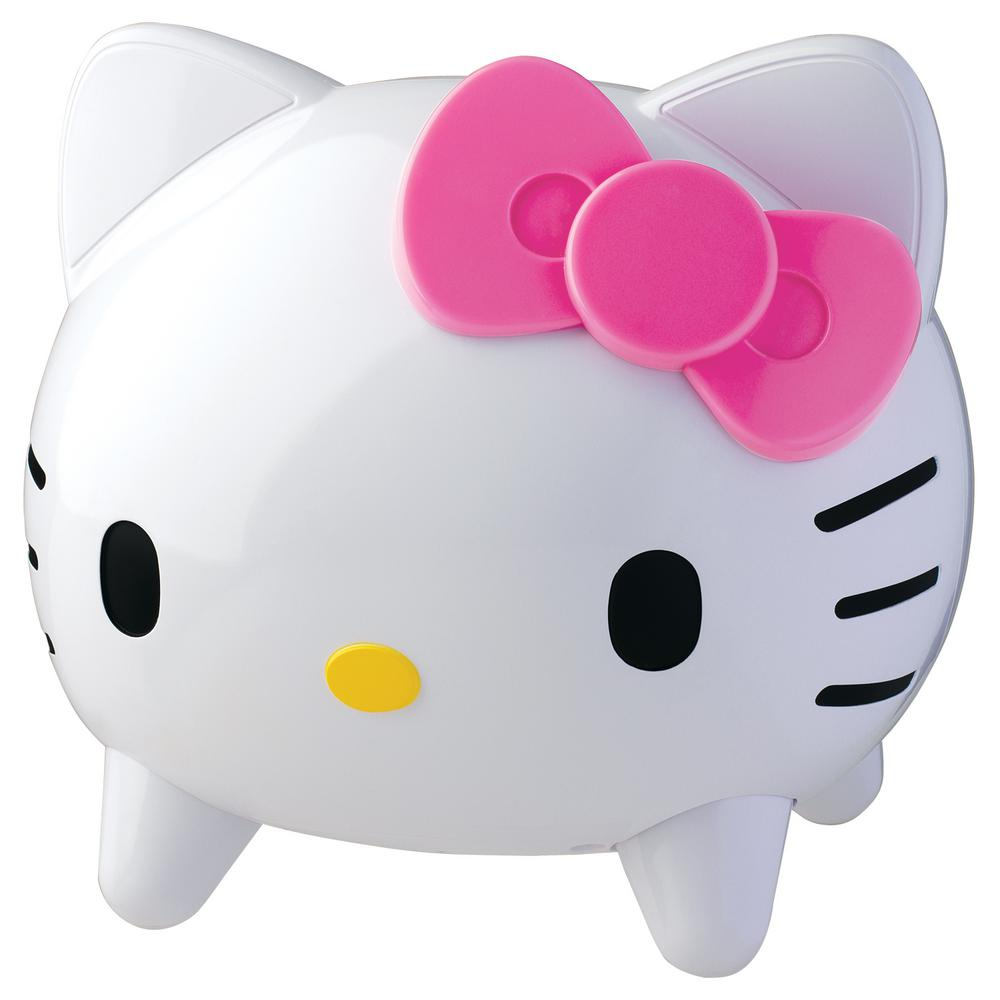 hello kitty bluetooth speaker system kt4557a f the home depot. Black Bedroom Furniture Sets. Home Design Ideas
