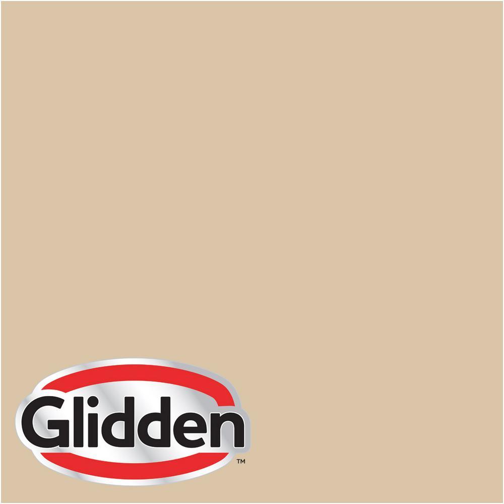 8 oz. #HDGO63 Whispering Wheat Flat Interior Paint Sample