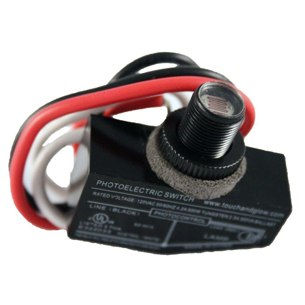 500-Watt 7/16 in. Mini Button Dusk-to-Dawn Light Control
