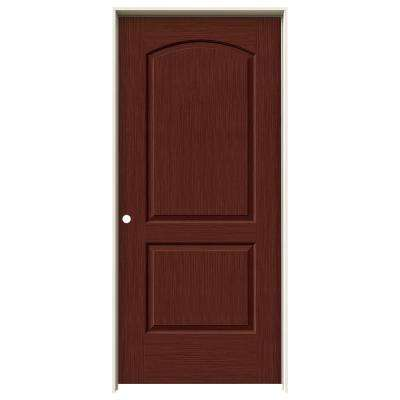 Charmant Continental Black Cherry Stain Right Hand Solid Core