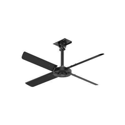 XP 7 ft. 110-Volt Single Phase HVLS Indoor Anodized Black Shop Ceiling Fan with Wall Control