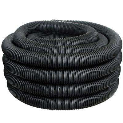 4 in. x 50 ft. Corex Drain Pipe Perforated