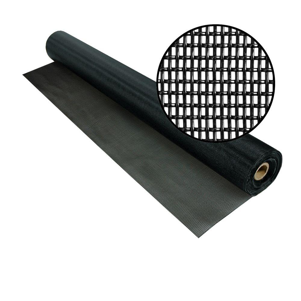 60 in. x 100 ft. Black Pet Screen