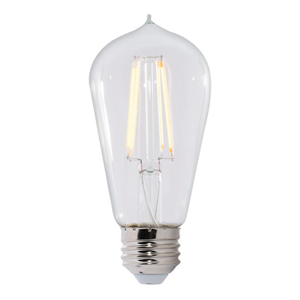 Bulbrite 40w Equivalent Warm White Light G16 Dimmable Led: Bulbrite 60W Equivalent Warm White Light ST18 Dimmable LED