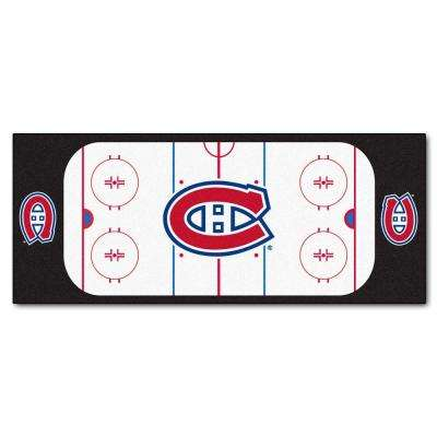 Montreal Canadiens 3 ft. x 6 ft. Rink Rug Runner Rug