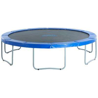 12 ft. Round Trampoline with Blue Safety Pad