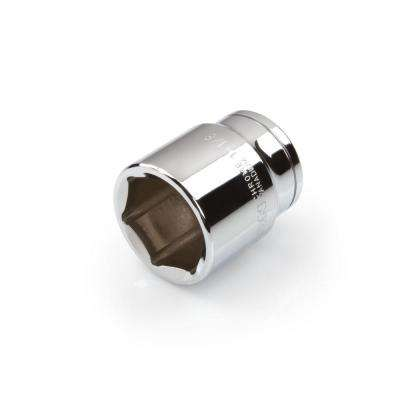 1/2 in. Drive 1-1/8 in. 6-Point Shallow Socket