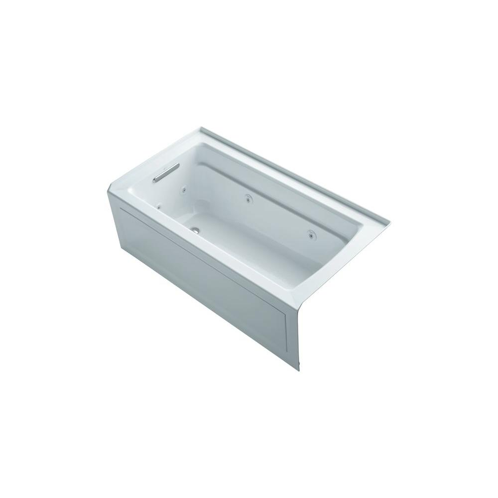 KOHLER Archer 5 ft. Whirlpool Tub in White