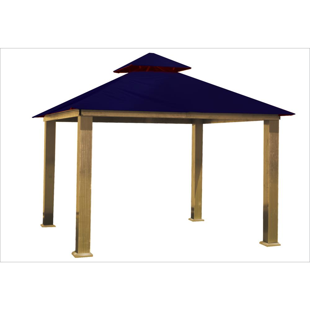 12 ft. x 12 ft. Purple Haze Gazebo