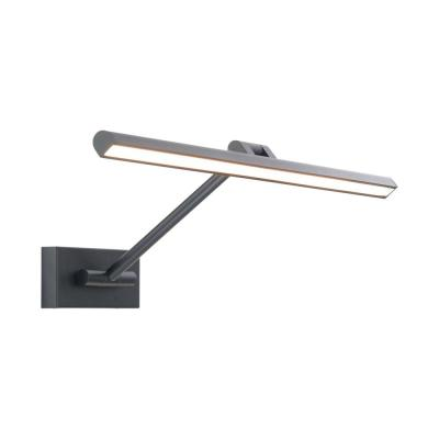 Reed 25 in. Black LED Adjustable Picture Light, 3000K