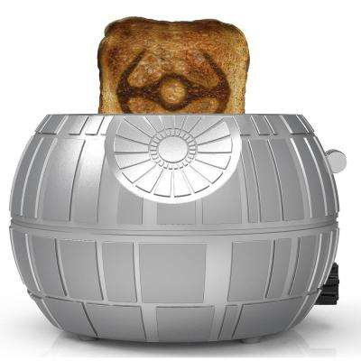 Death Star 2-Slice Grey Toaster