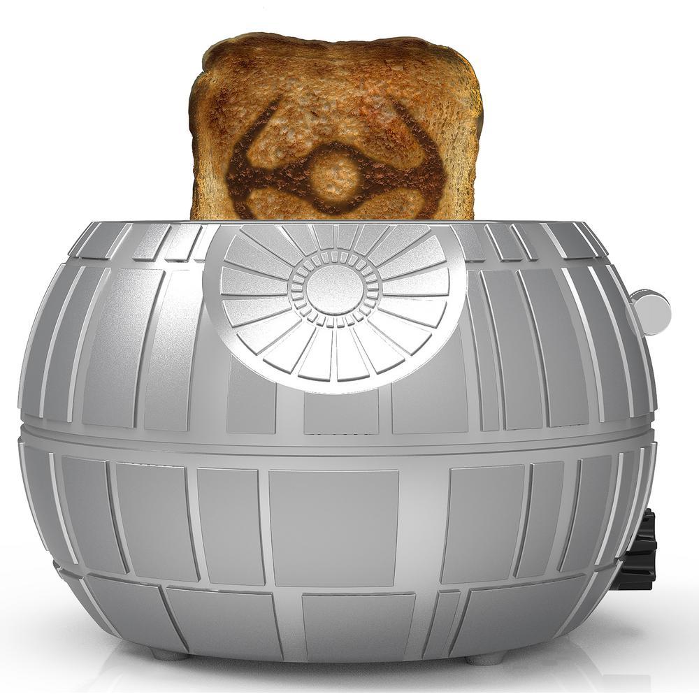 Death Star 2-Slice Grey Toaster