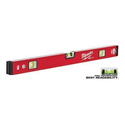 24 in. REDSTICK Magnetic Compact Box Level