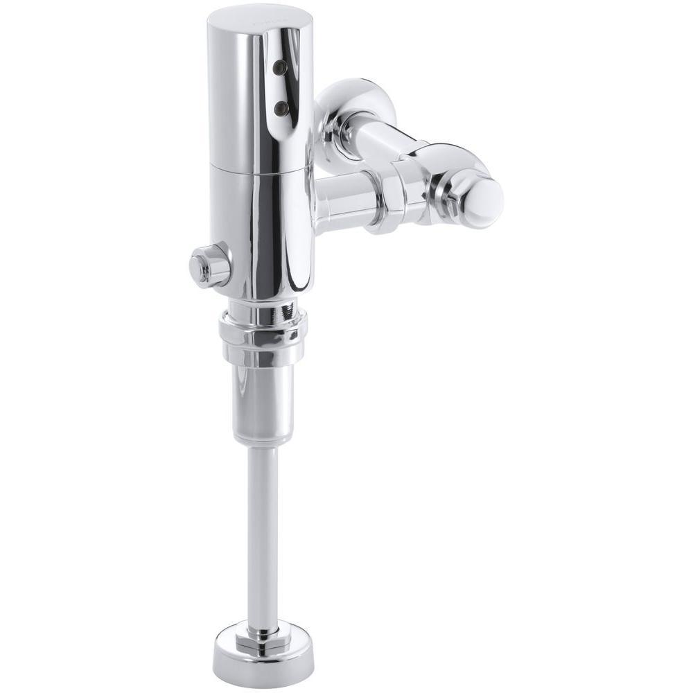 Tripoint 1.0 GPF Urinal Flushometer Flush Valve in Polished Chrome