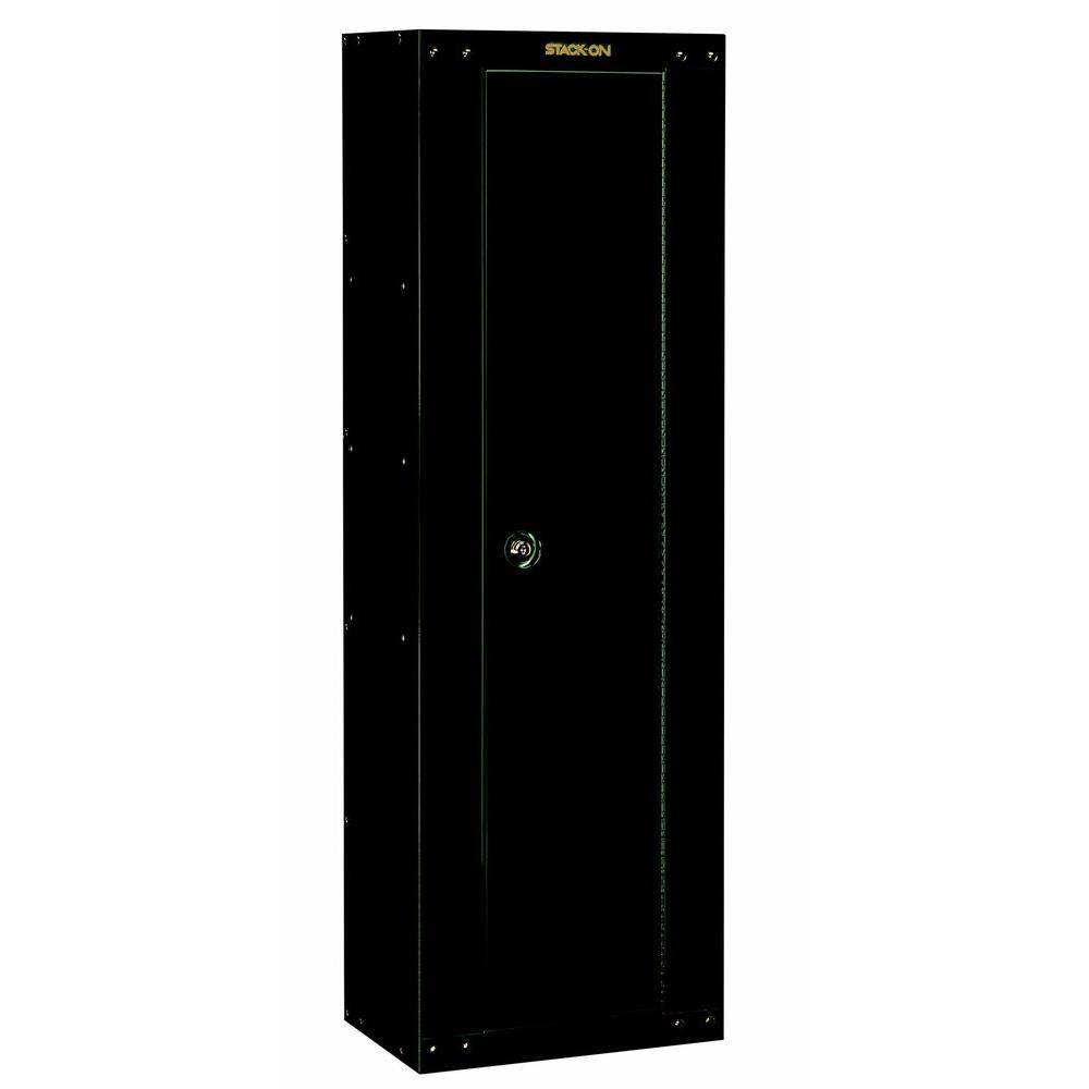 Stack-On 8-Gun Ready to Assemble Steel Security Cabinet, Hunter Green