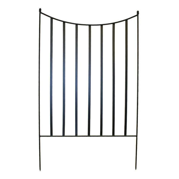Canterbury 39 in. Steel Garden Fence