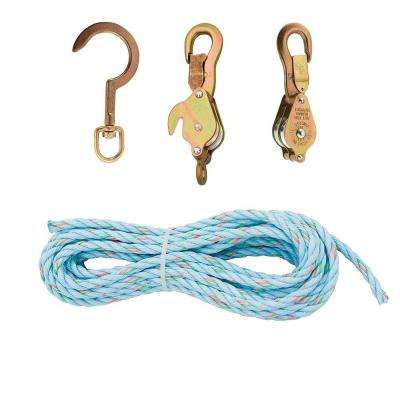 Galvanized Steel and Aluminum Alloy Block and Tackle