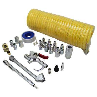 25-Piece Recoil Hose Kit