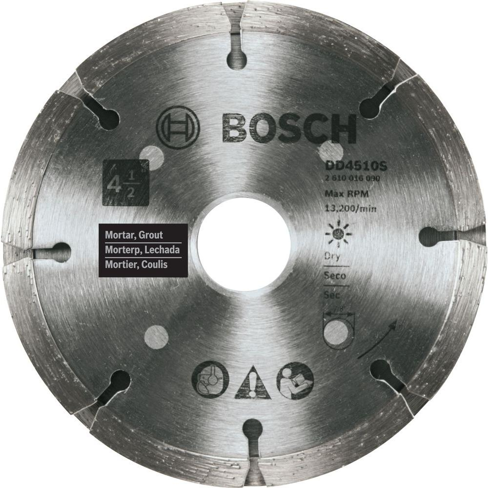 4-1/2 in. Sandwich Tuckpointing Concrete Cutting Diamond Saw Blade