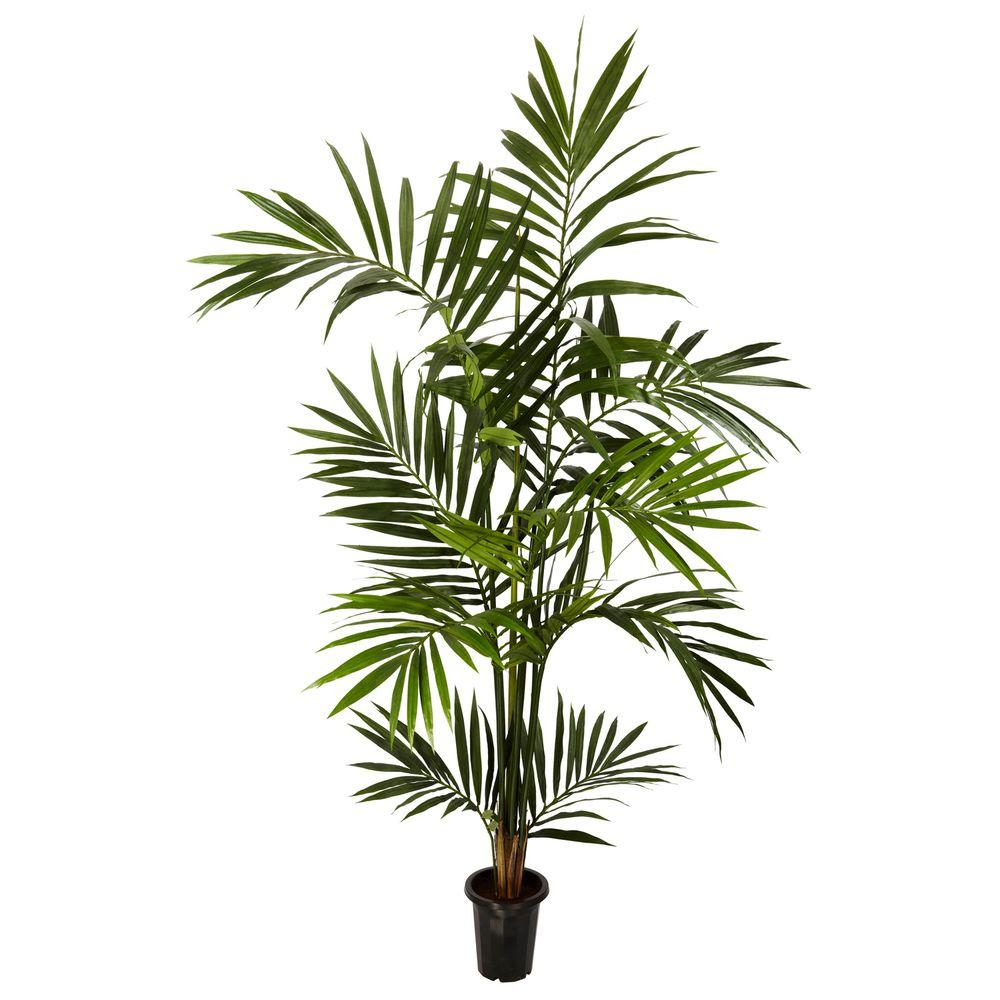 6 ft. Green Kenitia Palm Silk Tree