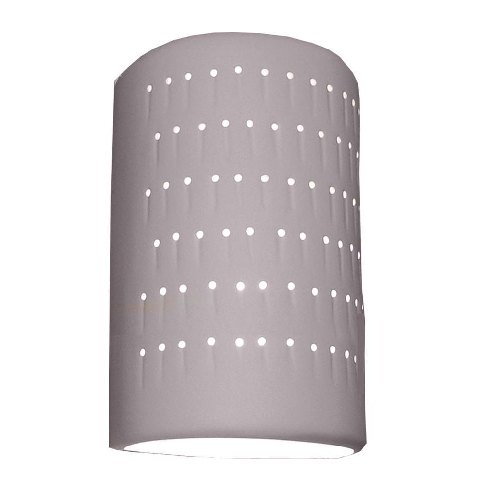 Filament Design Romeo Bisque Dark Grey Ceramic Outdoor Wall Sconce ...