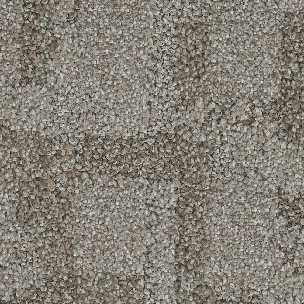 Carpet Sample - Open Wheel - Color Motion Pattern 8 in. x 8 in.