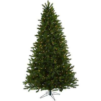 7.5 ft. Rembrandt Artificial Christmas Tree with Clear Lights