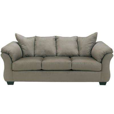 Signature Design by Ashley Darcy Cobblestone Fabric Sofa