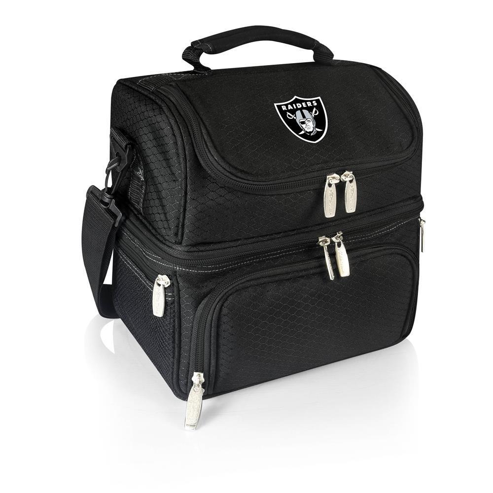 Pranzo Black Oakland Raiders Lunch Bag