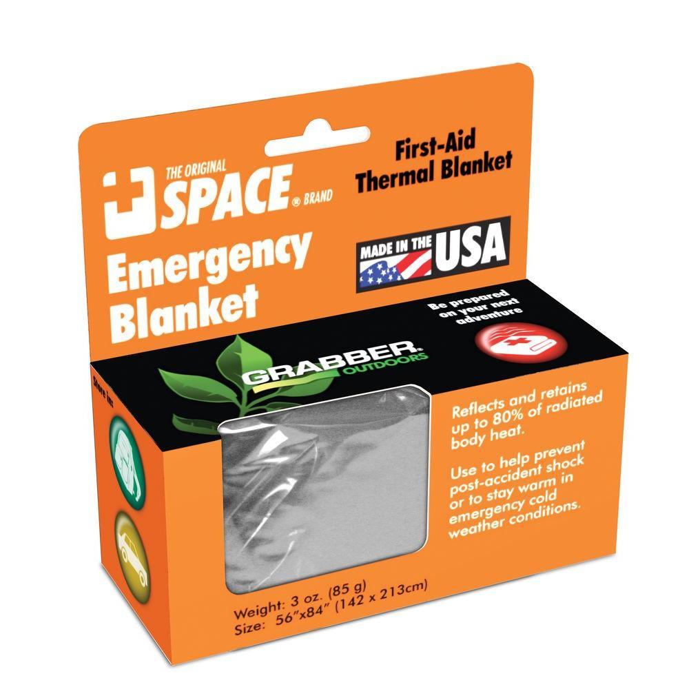 Grabber Emergency Space Blanket