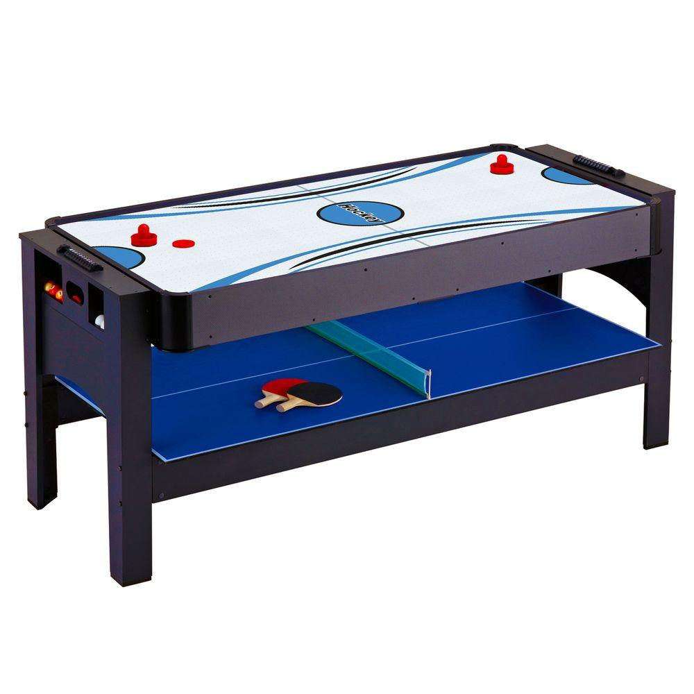 Hathaway Triple Threat 3-in-1 Flip Game Table
