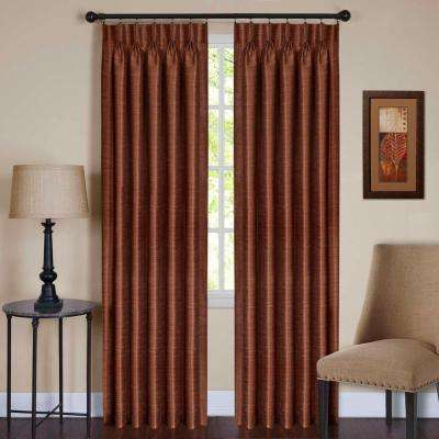 Indoor Brown Sheer Curtains Drapes Window Treatments - Curtains and drapes