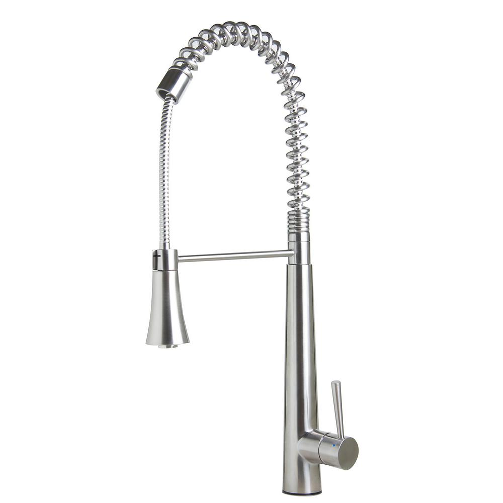 ALFI BRAND Single-Handle Pull-Down Sprayer Kitchen Faucet