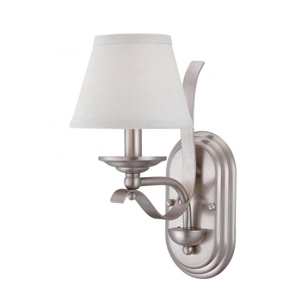 Filament Design Rome 1-Light Pewter Sconce