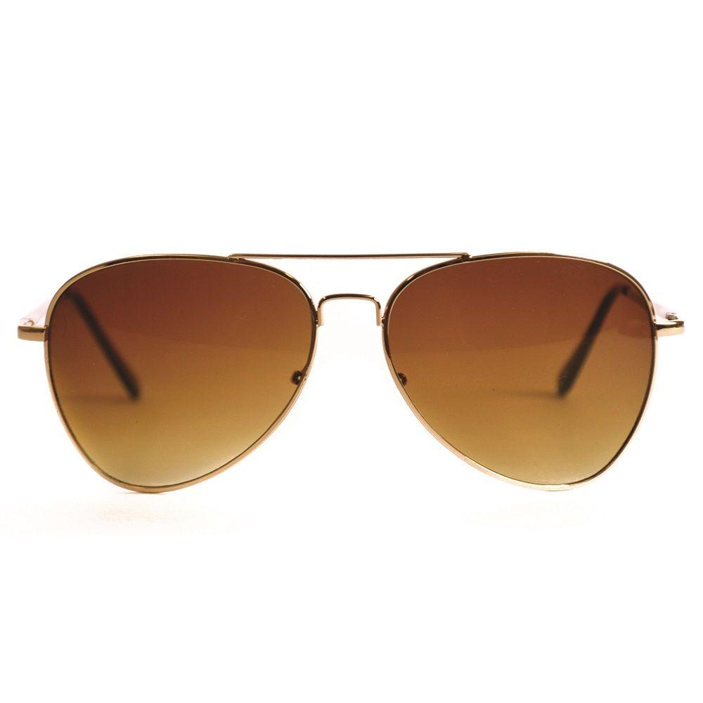 d6fecdfcb1da2 Shadedeye Gold Aviator Sunglasses-85901-16 - The Home Depot