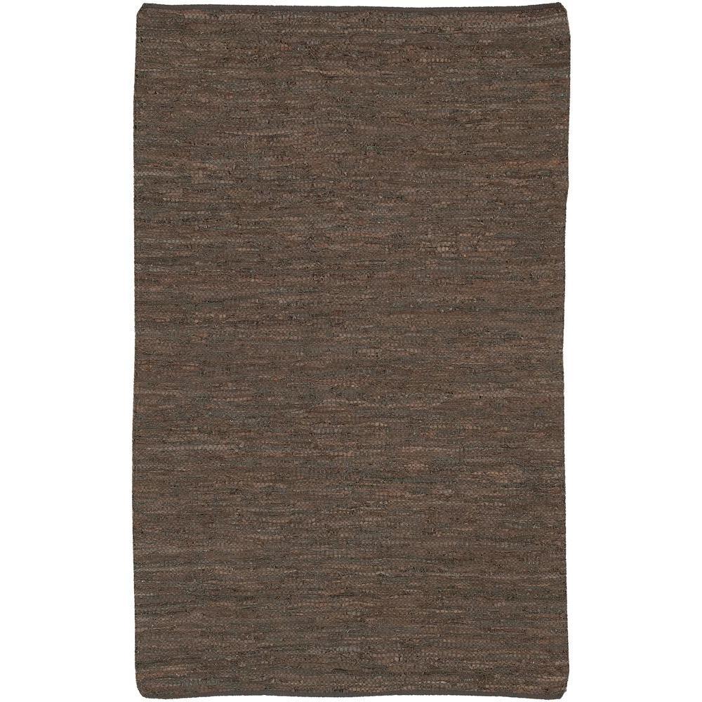 Saket Brown 2 ft. x 3 ft. Indoor Area Rug
