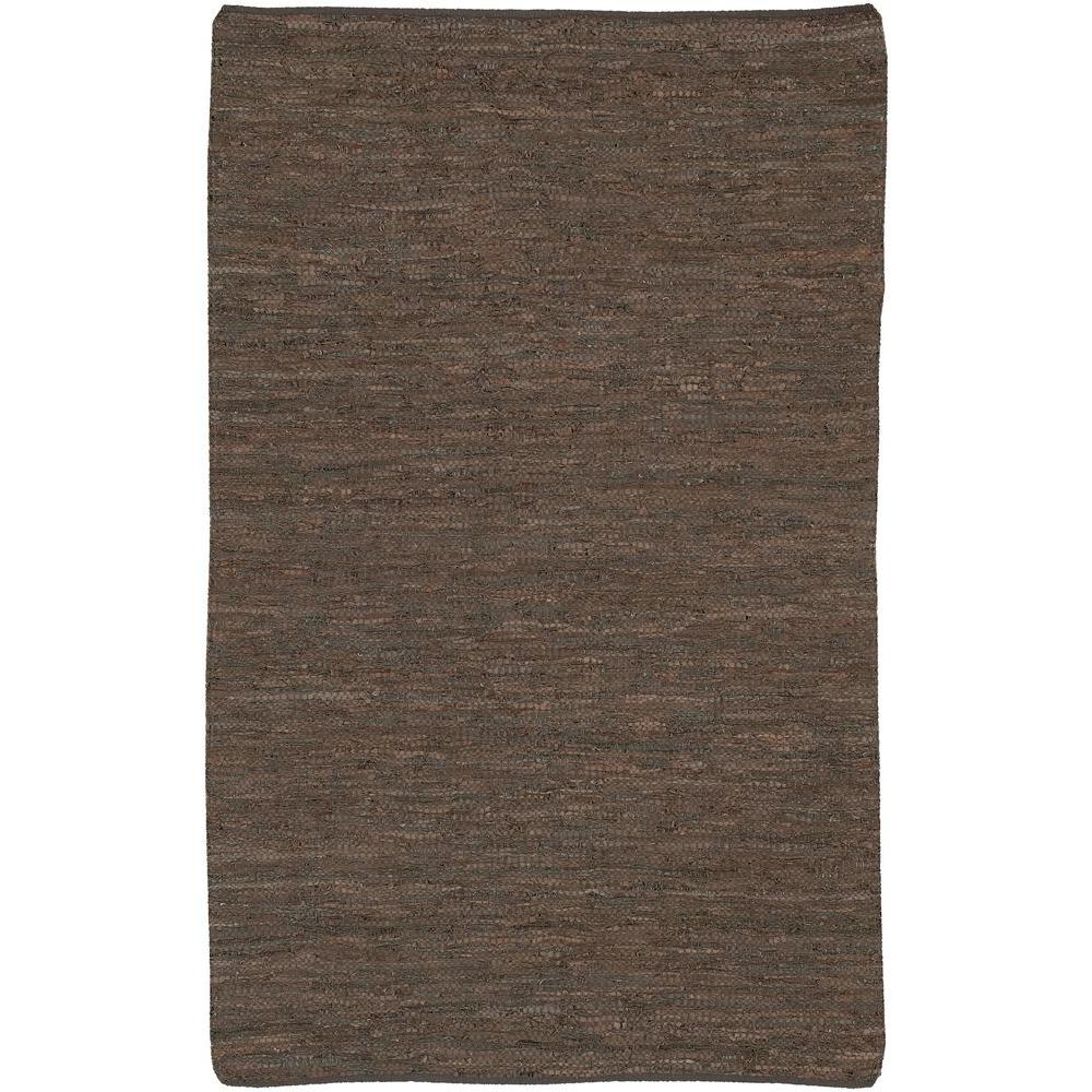 Saket Brown 9 ft. x 13 ft. Indoor Area Rug