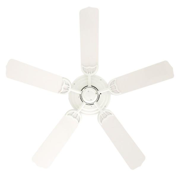 Indoor Outdoor White Ceiling Fan 53054