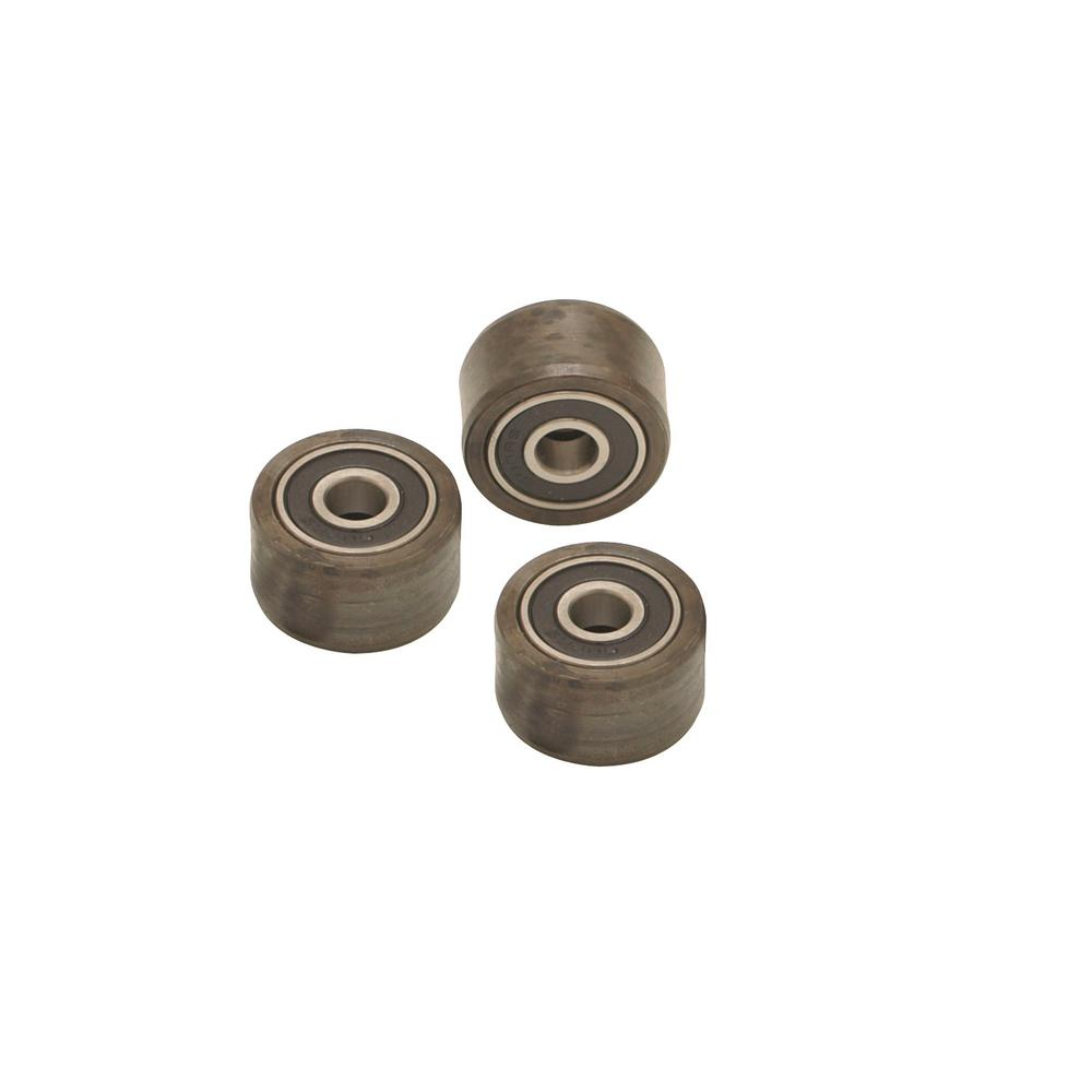 General Pipe Cleaners Set of Feed Rollers for Power Drain Cleaner Cable Feed