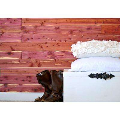Aromatic Cedar Natural Closet Liner Planks