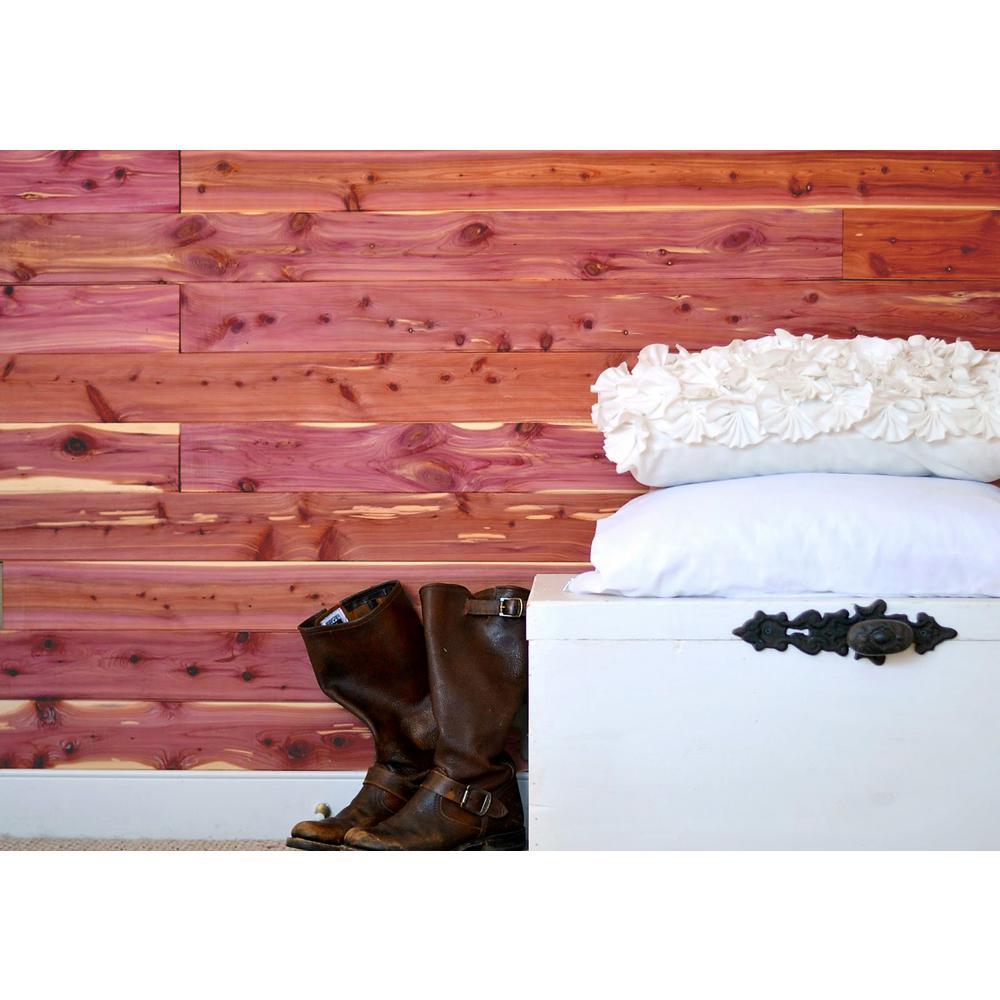 Aromatic Cedar Natural Closet Liner Planks