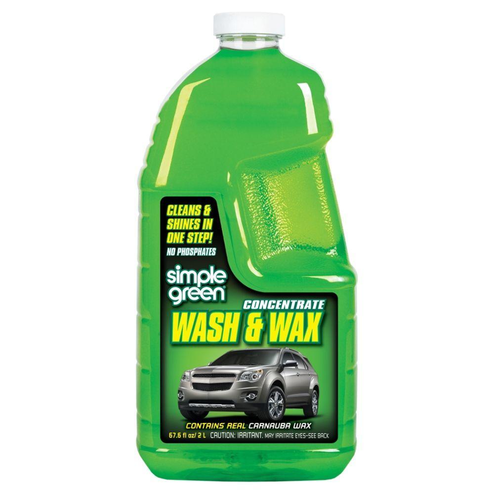 Simple Green 67 oz. Car Wash and Wax