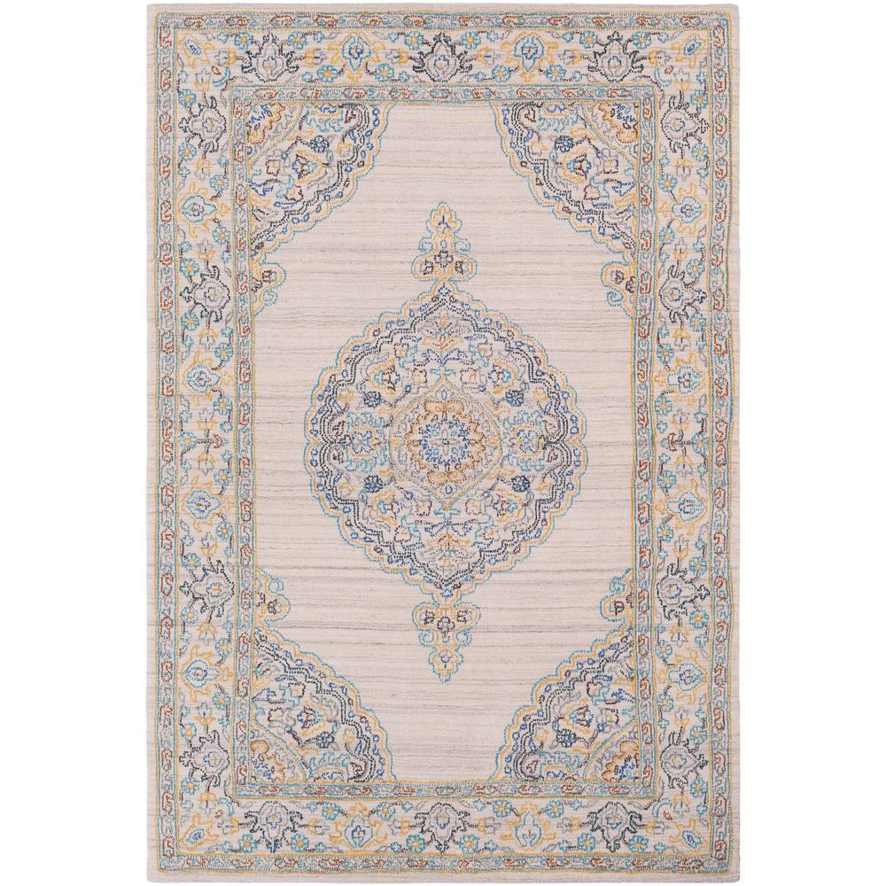Tayse Rugs Majesty Teal 8 Ft. X 10 Ft. Traditional Area