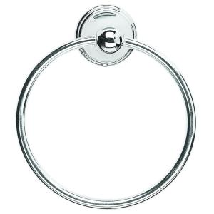 Croydex Westminster Towel Ring in Chrome by Croydex